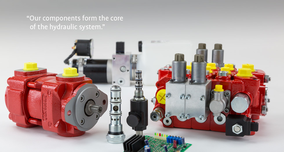 Bucher Hydraulics: Innovative hydraulic drive and control technologies
